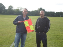 L to R: John Buchan (Manager) Paul Breedon (Assisstant Manager)